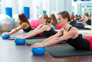 Group Pilates Class business fitness classes